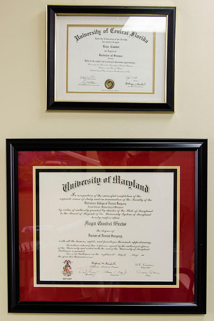 dental diplomas